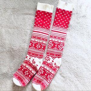 Victoria's Secret Christmas socks stocking holiday